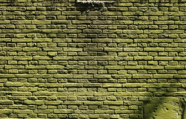 Фоны для презентаций - Грязная кирпичная стена 2