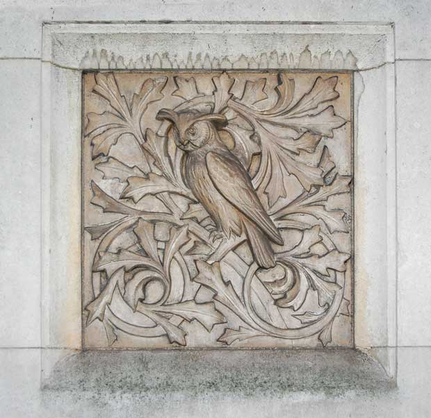 Фоны для презентаций - Рельефный орнамент 3