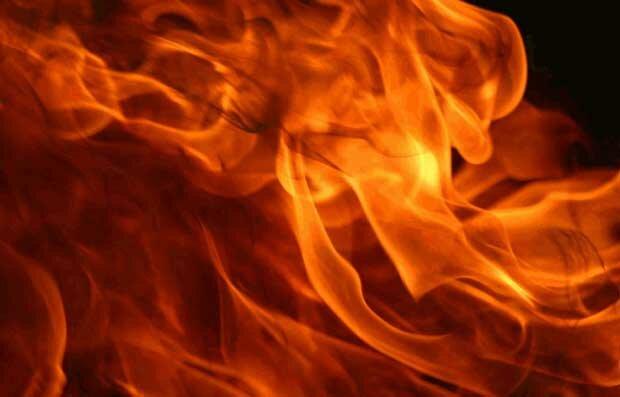 Фоны для презентаций - Огненное пламя 11