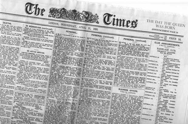 Фоны для презентаций - Старые газеты 7
