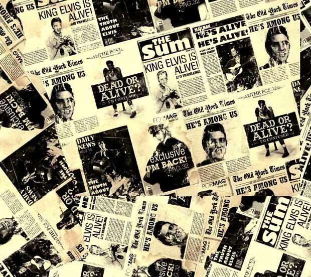 Фоны для презентаций - Старые газеты 9