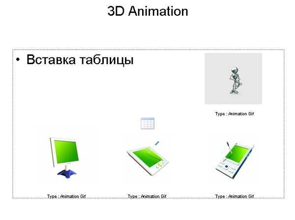 анимация в powerpoint
