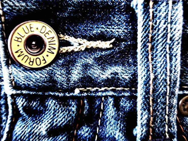 Карман на джинсах