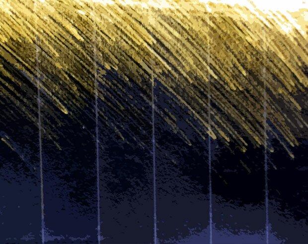 Желтое на черном фоне