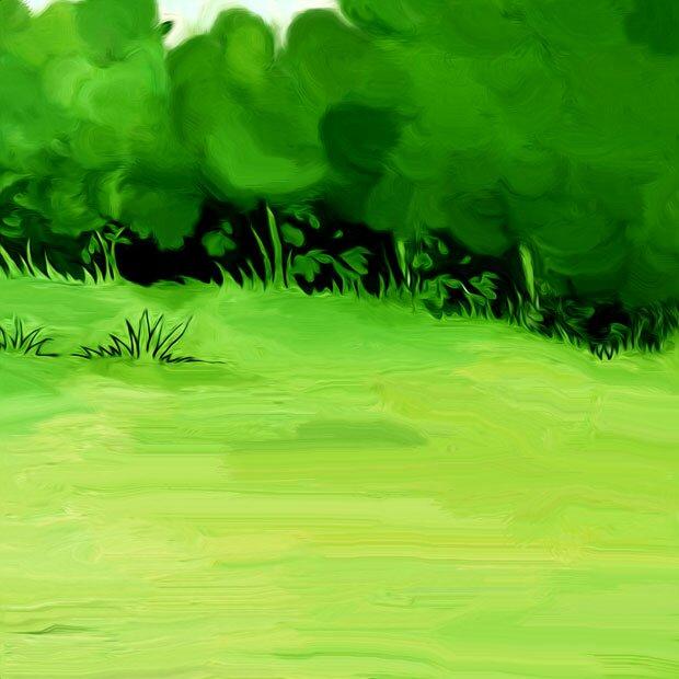 Трава и деревья