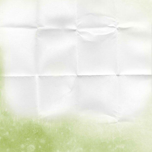 Развернутый лист бумаги