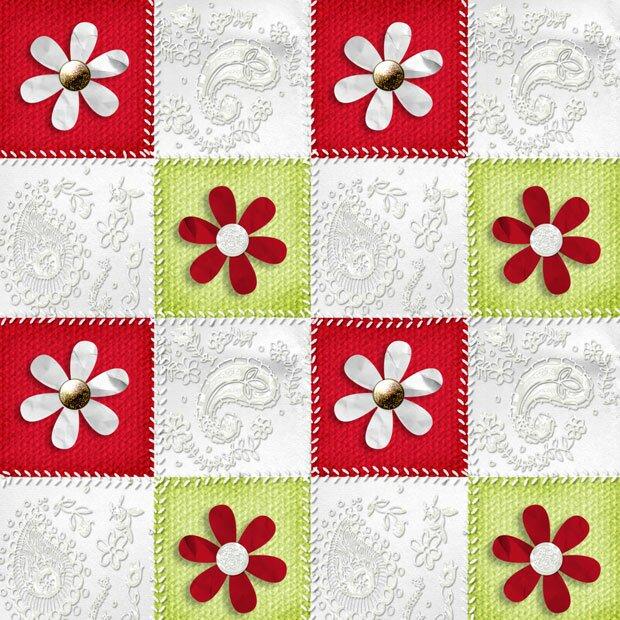 Цветы на полотне