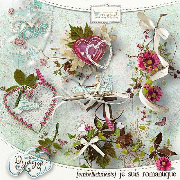 Сердечки и кулоны - романтика