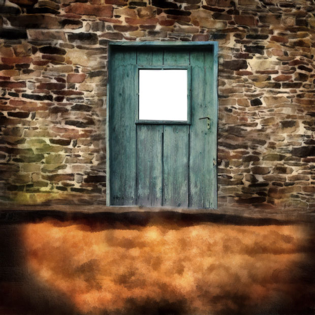 Фон дверь - выход