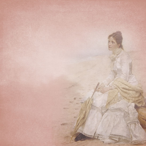 Женщина на побережье
