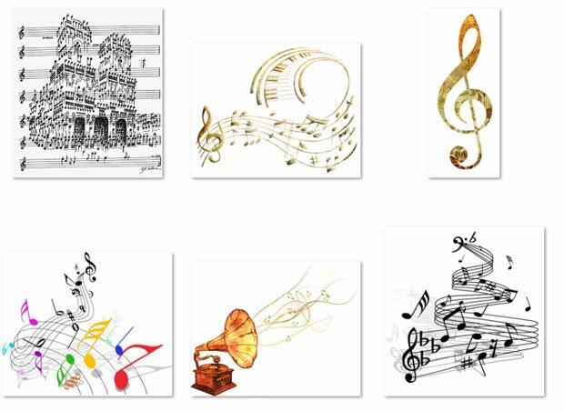 Ноты и музыка