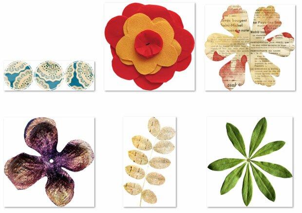 Дизайнерские поделки цветов