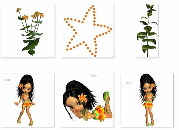 Девушка-аборигенка