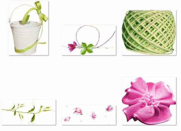 Вязание и цветки