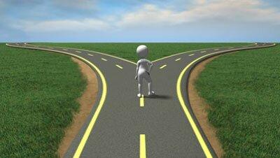 Дорога раздваивается