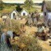 Дом и деревня славян