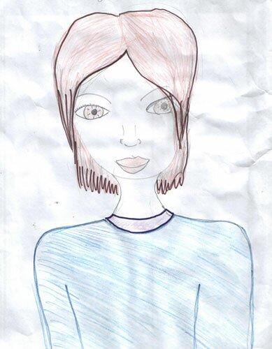 Рисунок подруги