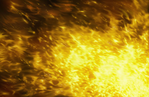 Желтое пламя
