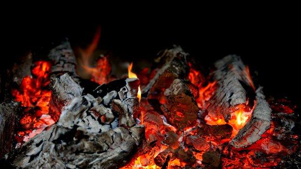 Догорающие угли