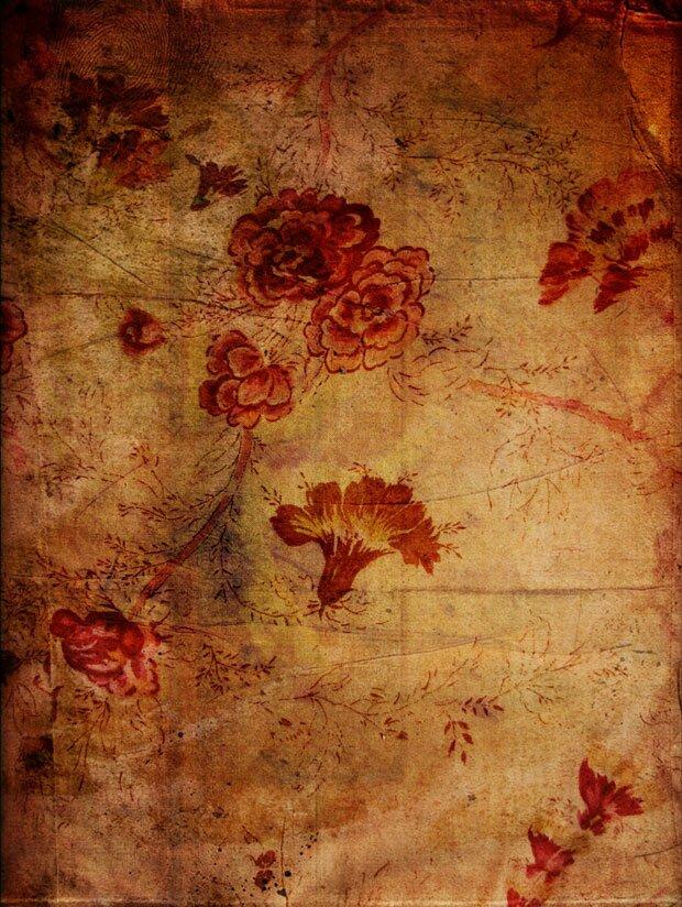 Цветки на полотне