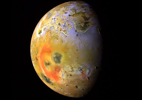 Ио спутник Юпитера