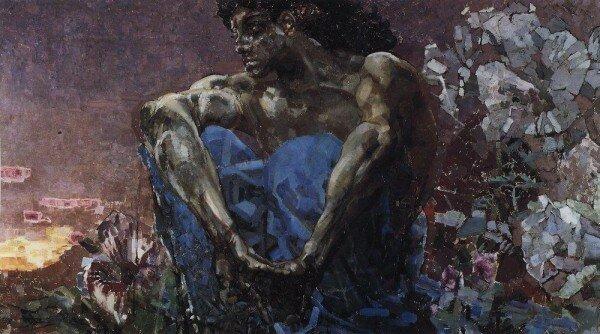 Картина Врубеля - Демон