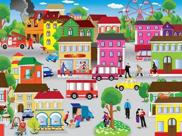 Город для детей