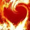 Фон - Огненное пламя
