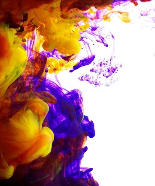 Фоны для презентаций - Цветные облака 4