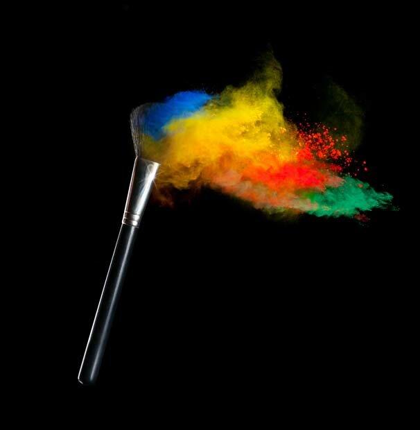 Фоны для презентаций - Цветные облака 8