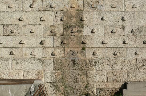 Фоны для презентаций - Каменная стена 10