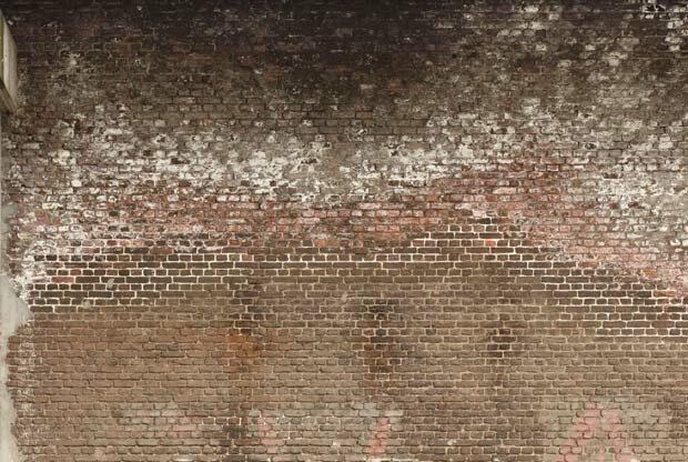 Фоны для презентаций - Грязная кирпичная стена 5