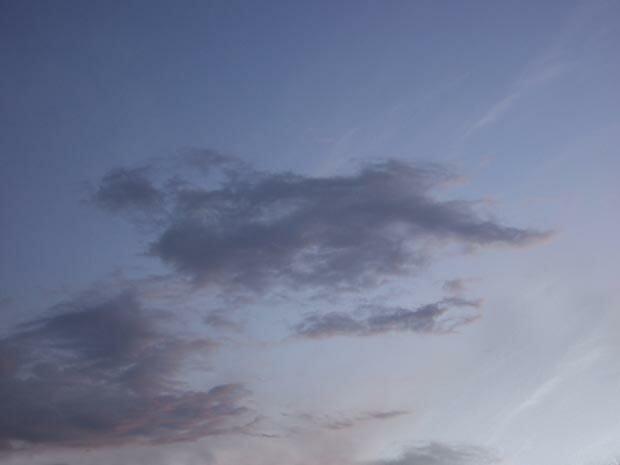 Фоны для презентаций - Облака 3