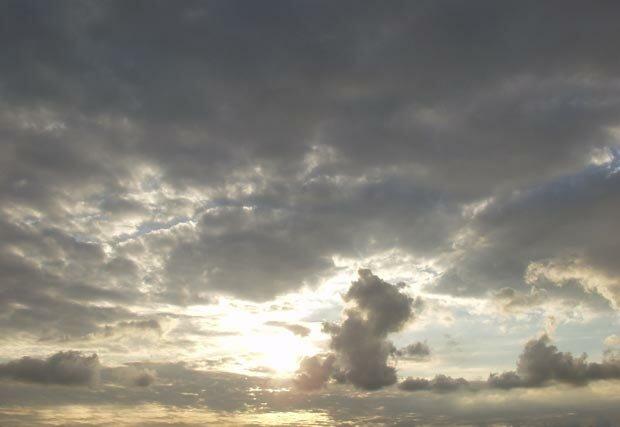 Фоны для презентаций - Облака 13