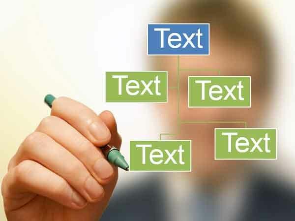 Шаблон презентации Писать ручкой - основная часть