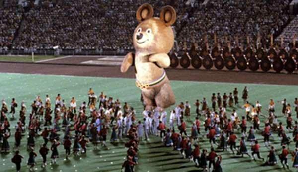 Мишка Олимпиада в Москве 1980
