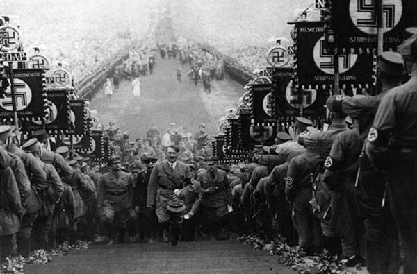 Фашисты в Нюрнберге