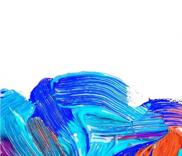Синий акрил