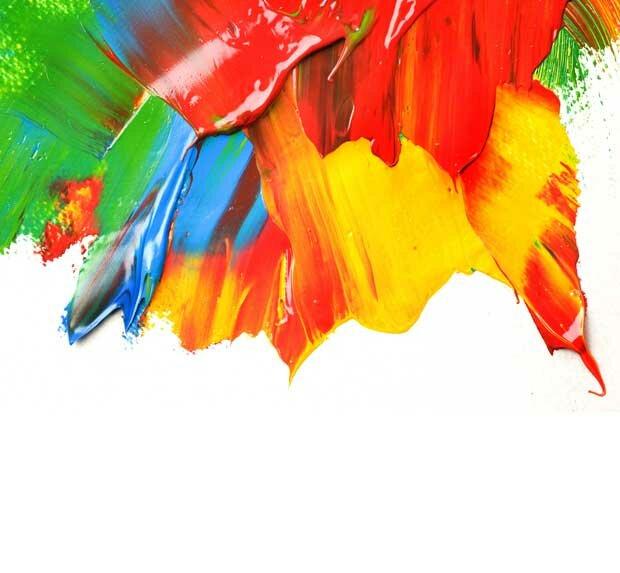 фон акриловая краска