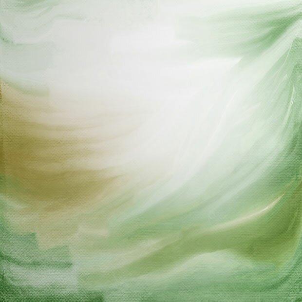 Фон зеленая абстракция