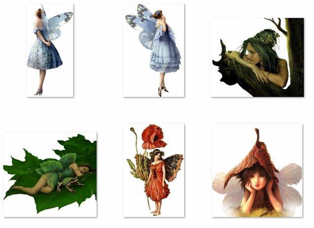 Маленькая зеленая фея