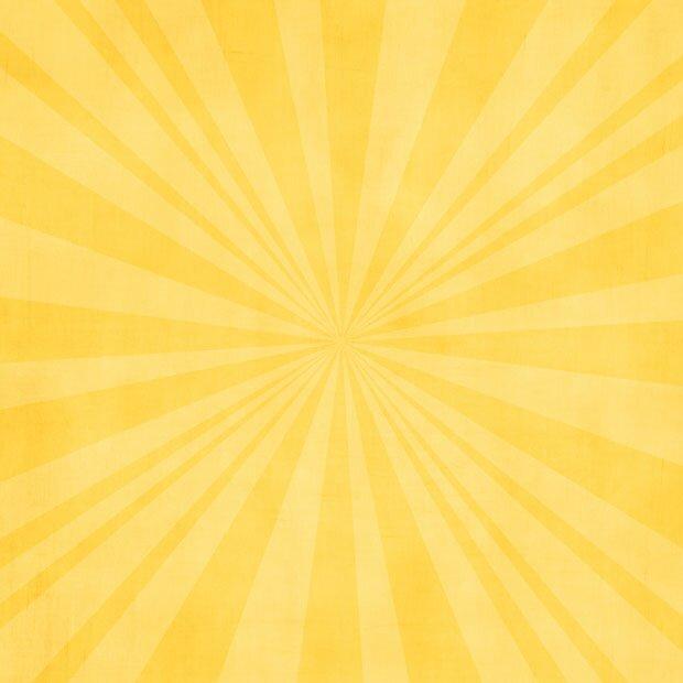 Яркие лучи солнца