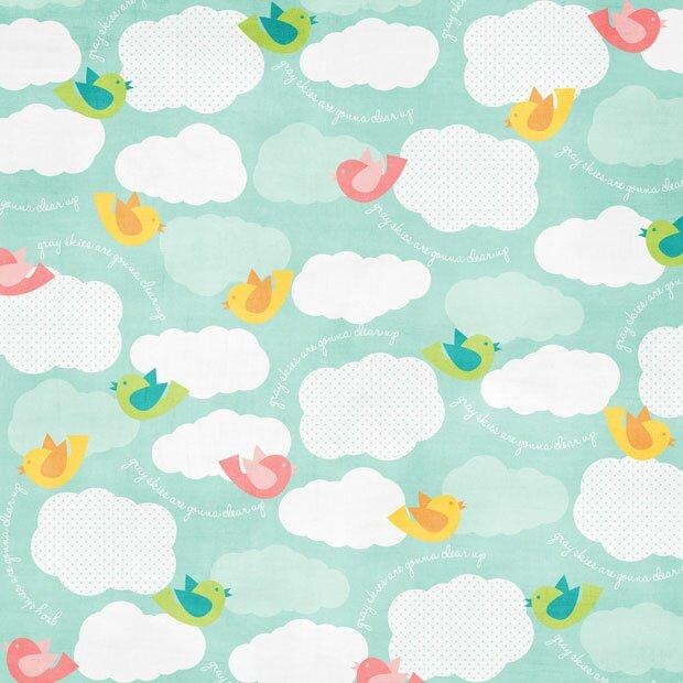 Птички и облака