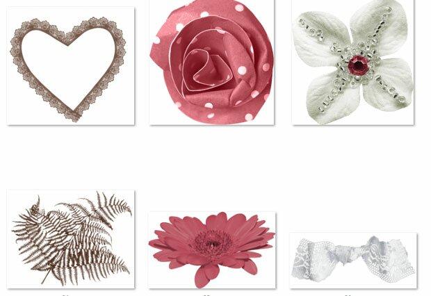 Сердце и цветок