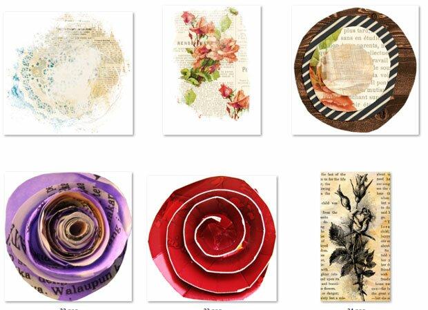 Дизайн цветов из бумаги