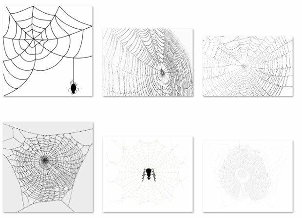 Формы паутины