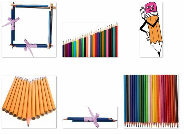 Заточенные карандаши