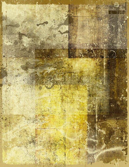 Желтый гранж