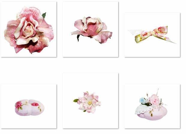 Цветы и нитки