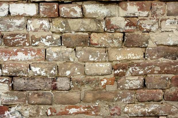 Стена из старого кирпича